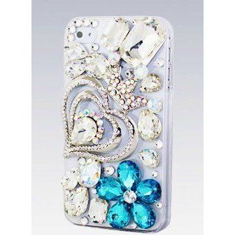 IPHN5! BIG BLING 3d Handmade Swarovski Crystal