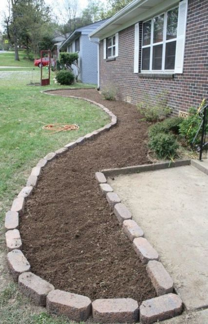 Photo of Landscaping design in front of house layout flower beds 42 ideas for 2019 – Land… – Flower Beds 2020 Flower Beds 2020