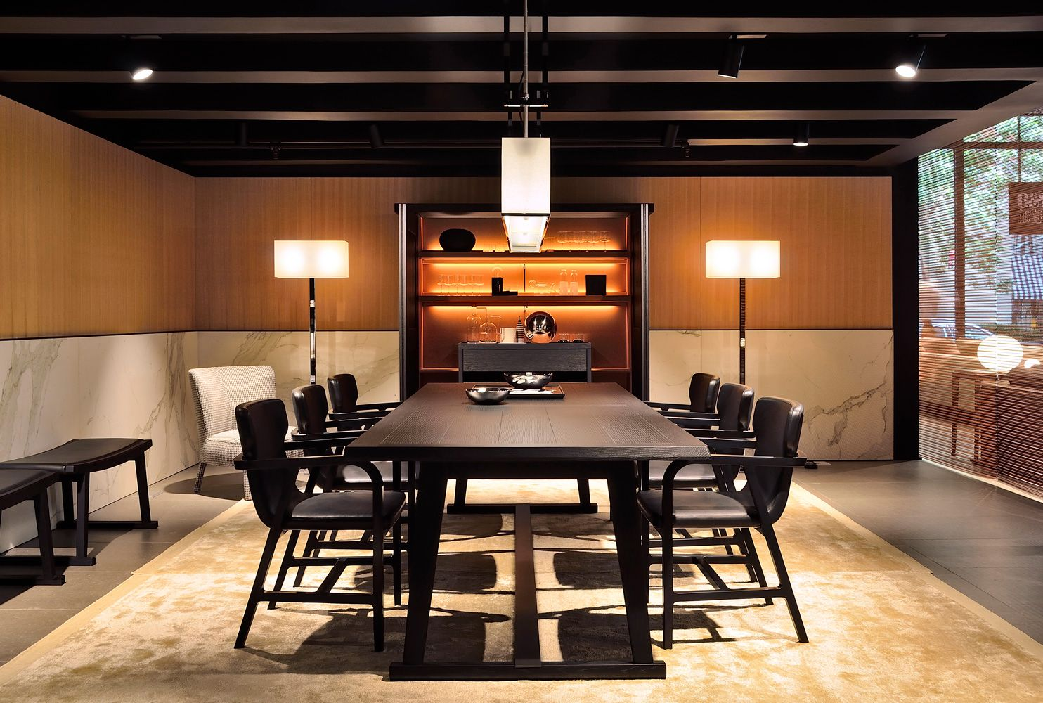 new opening in new york b b italia 03 modern interior rh pinterest com