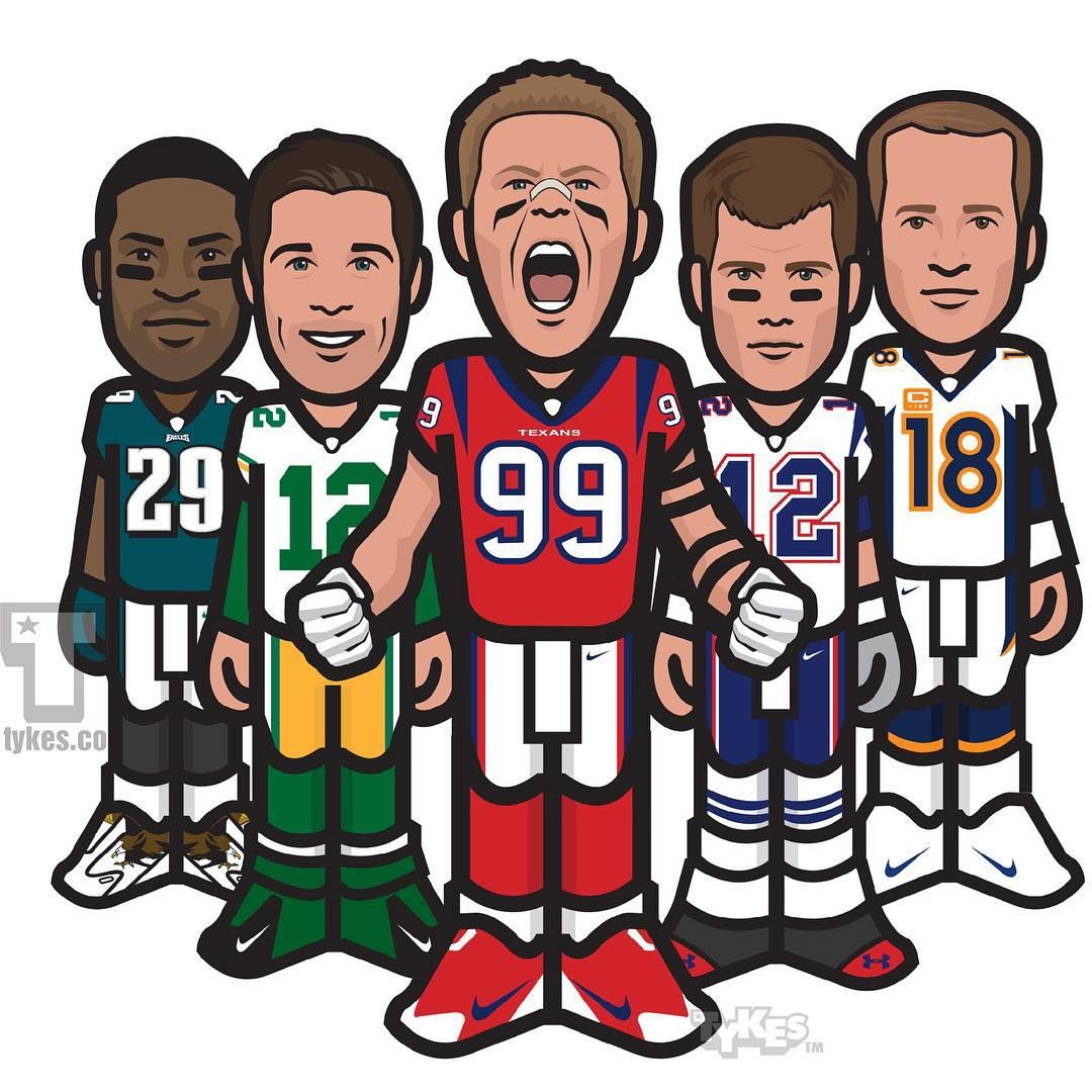 Tykes On Instagram The Nfl Top 100 Players Of 2015 Presents Numbers 5 1 5 Peytonmanning 4 Demarcomurray 3 Tomb Pro Football Teams Football Art Nfl
