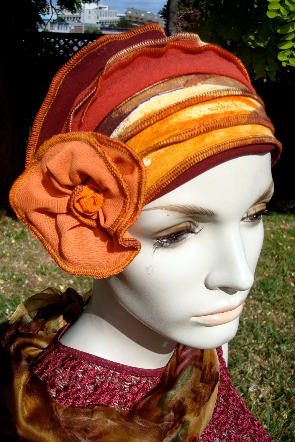chemo beanie headcover Headbands for women, Head wraps