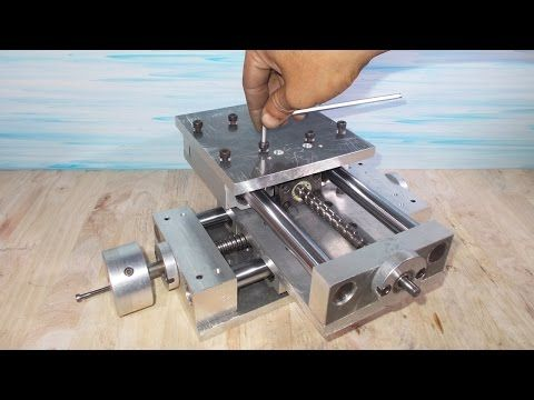 diy xyz slide stage table homemade milling lathe cnc machine pcb rh pinterest com