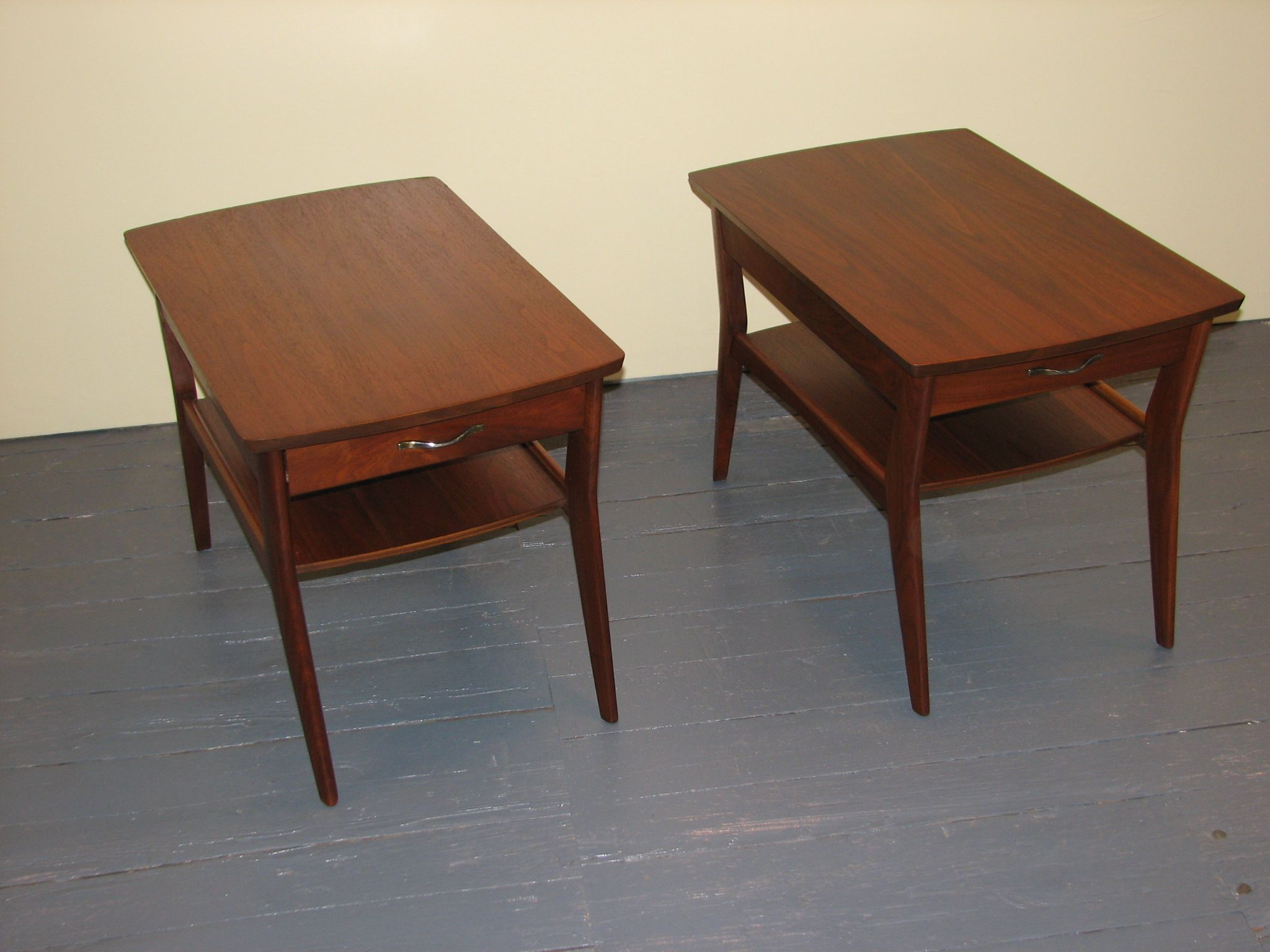 Mersman end tables to our 4 piece set