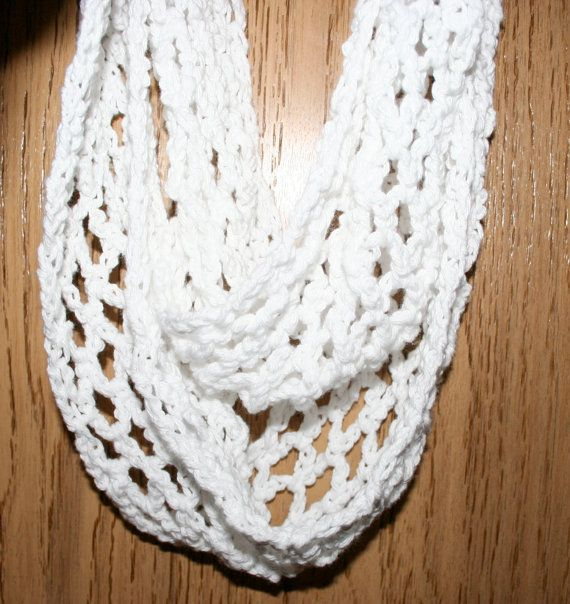Scarf Pattern Easy Crochet Infinity Cowl Beginner Scarf Pattern in 3 ...