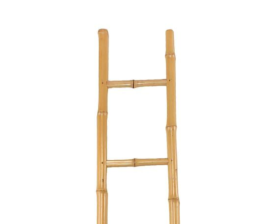 Escalera de bamb natural altura 200 cm proyecto - Escaleras de bambu ...