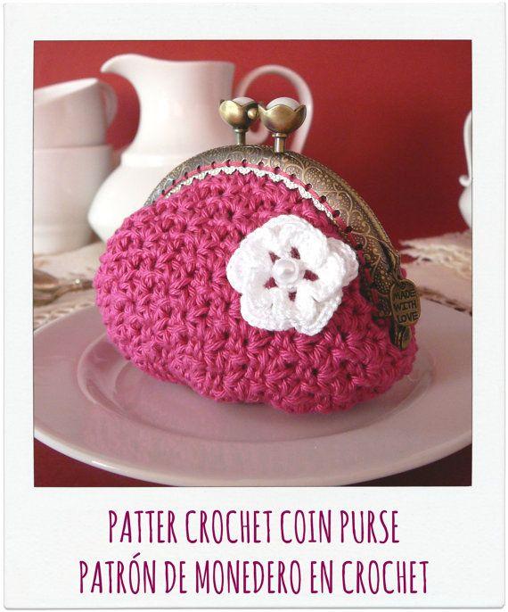 Patron De Monedero En Crochet Ganchillo Por Pitusasypetetes - Monedero-crochet-patron
