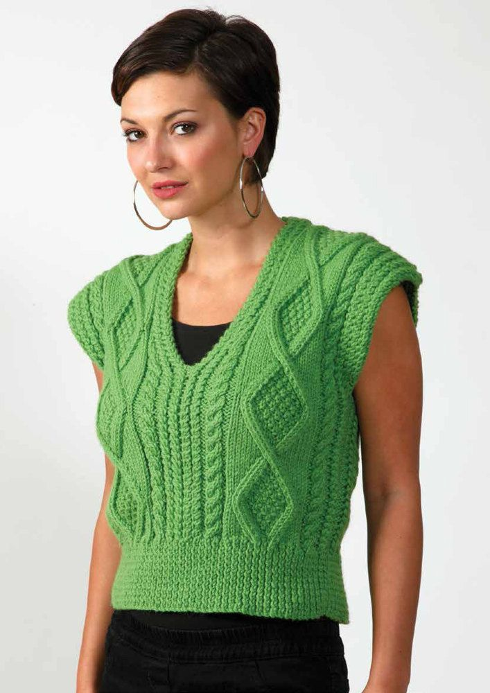 Top 5 Free Aran Knitting Patterns for Women - Jumpers | Pinterest ...