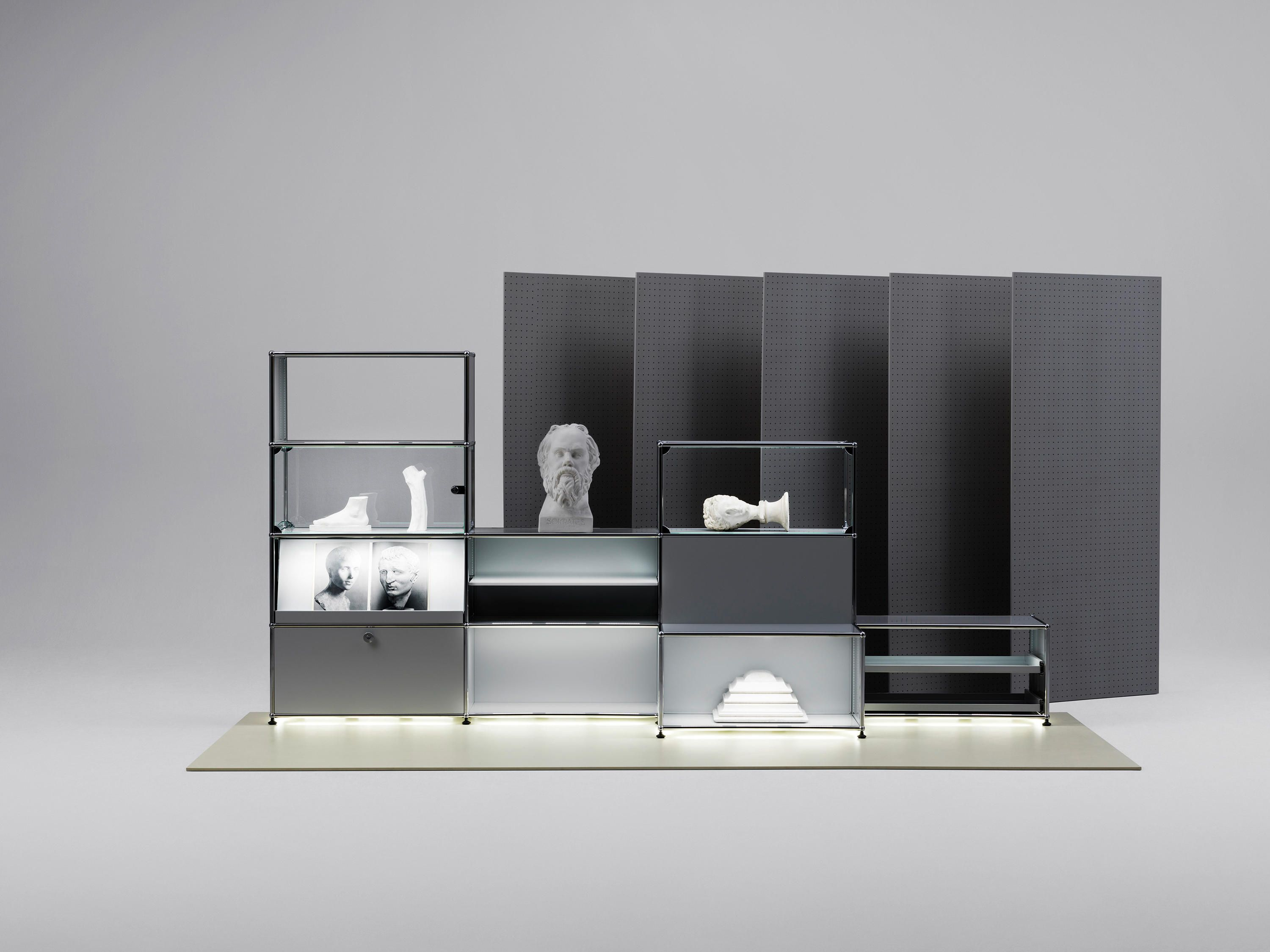 the classic in a new light usm haller e bookcase rh pinterest com