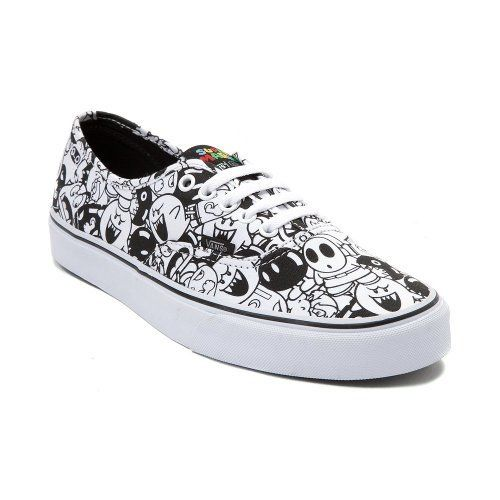 79c50b4bfe Especial Edition Nintendo Vans Authentic Mario Villains Mens 85Womens 10    Read more info by clicking the link on the image.  WomenFashionSneakers