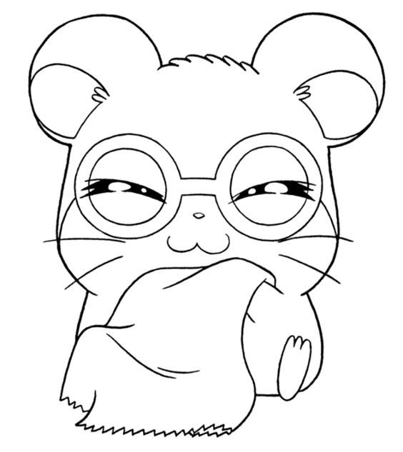 Pin By Princessneneng On Hamtaro Coloring Pages Animal Coloring Pages Coloring Pages Cute Coloring Pages
