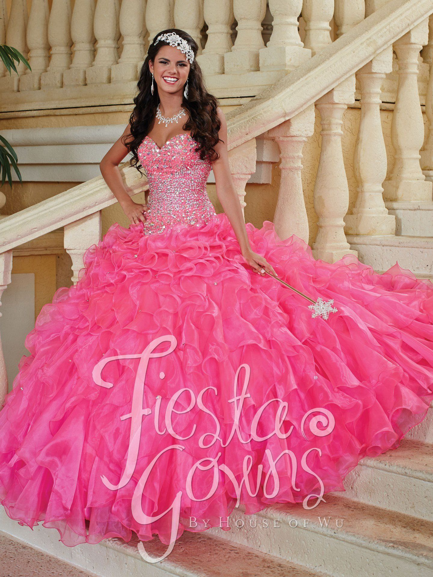 Fiesta Quinceanera Dress by House of Wu Style 56247 | Products ...