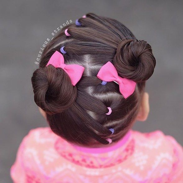 Fun Elastic Style By Little Princess Hairstyle! ???????????? Girlhairstyles - Ertug - Hair Beauty