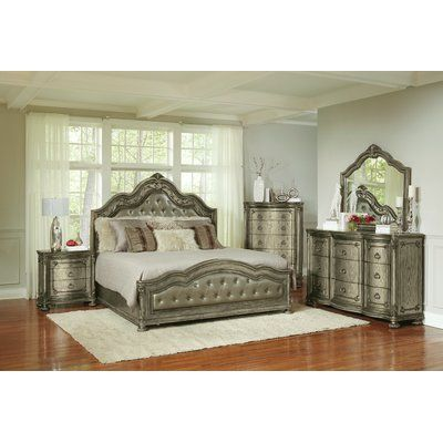 clevinger platform configurable bedroom set in 2019 bedrooms rh pinterest com au