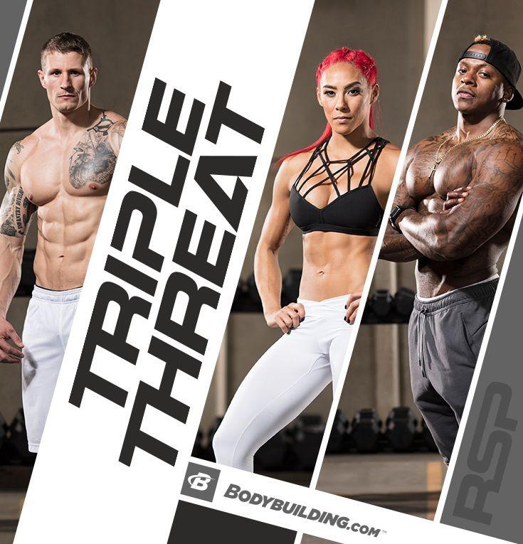 Triple Threat: 4-Week Fitness Plan | Fitness | Workout programs, Build muscle, Fitness diet