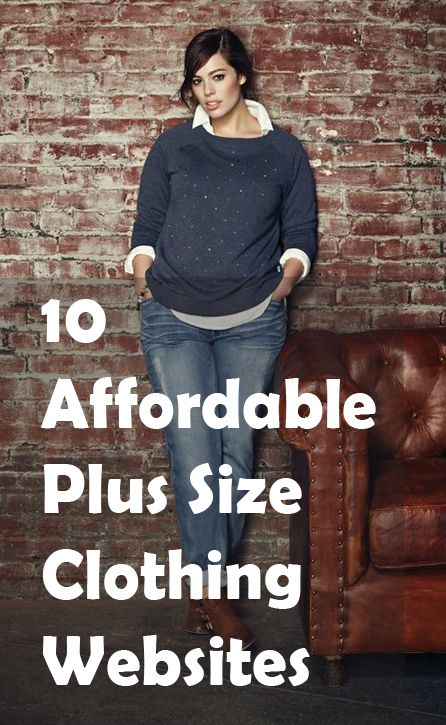 10 affordable plus size clothing websites | size clothing, college