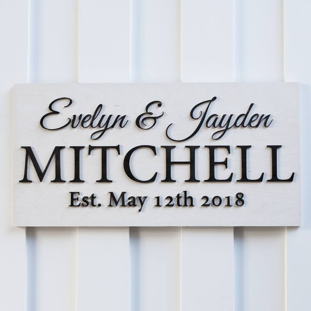 personalized sign mitchell design in 2019 name signs family rh pinterest com