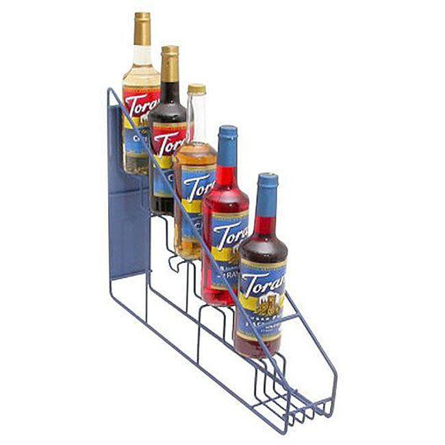 Torani 6 Bottle Wire Rack Coffee Syrupssoda