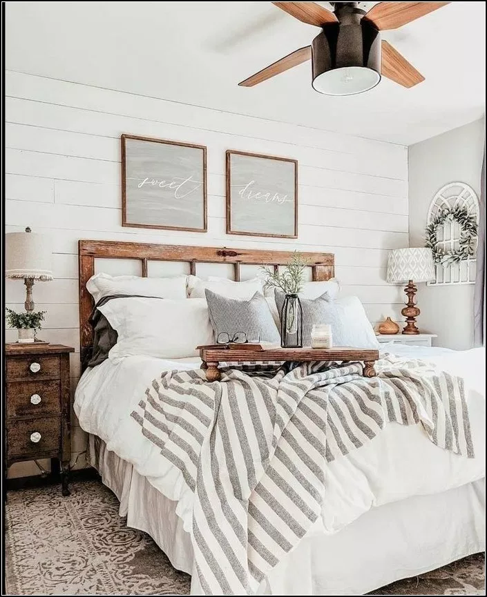 160+ dreamy master bedroom ideas and designs that go beyond the basic 28 ~ mantulgan.me #modernfarmhousebedroom