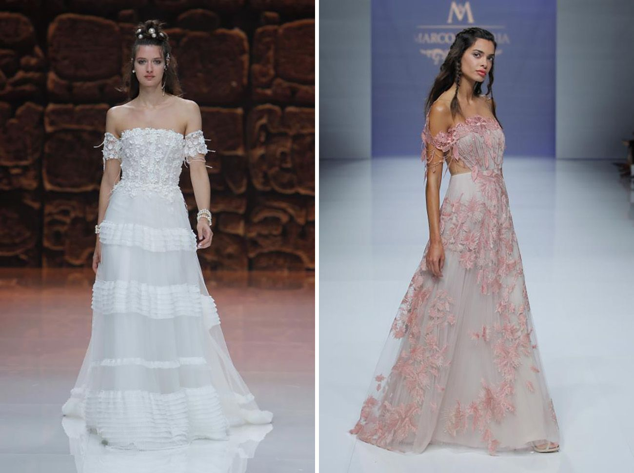 Our Favorite Trends from Barcelona Bridal Week 2018