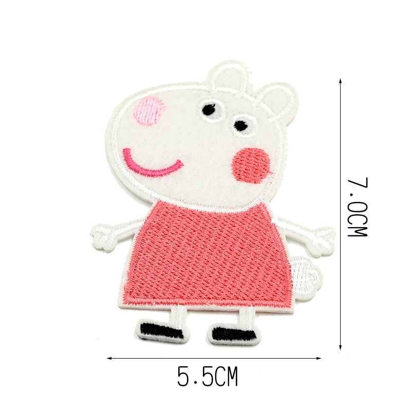 Suzy Sheep Embroidery Patches for Kid's Clothes Iron