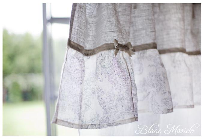 toile de jouy linen curtain Blanc Mariclo | Contemporary Shabby Home ...