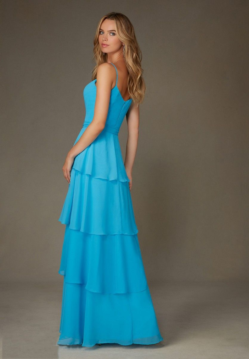 Back of Mori Lee 123 Bridesmaid Dress. #morilee #bridesmaid ...