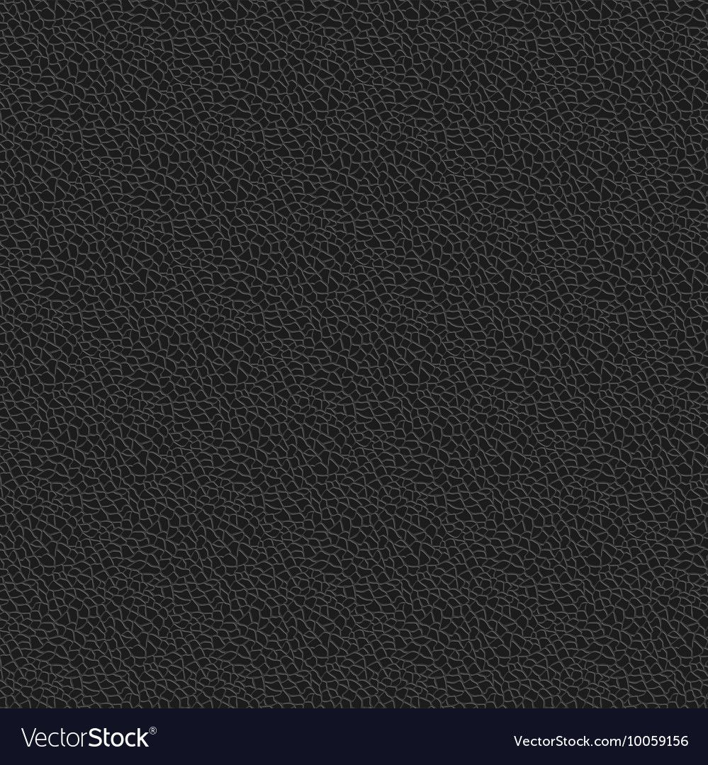 Black Leather Texture Seamless Pattern Background Vector