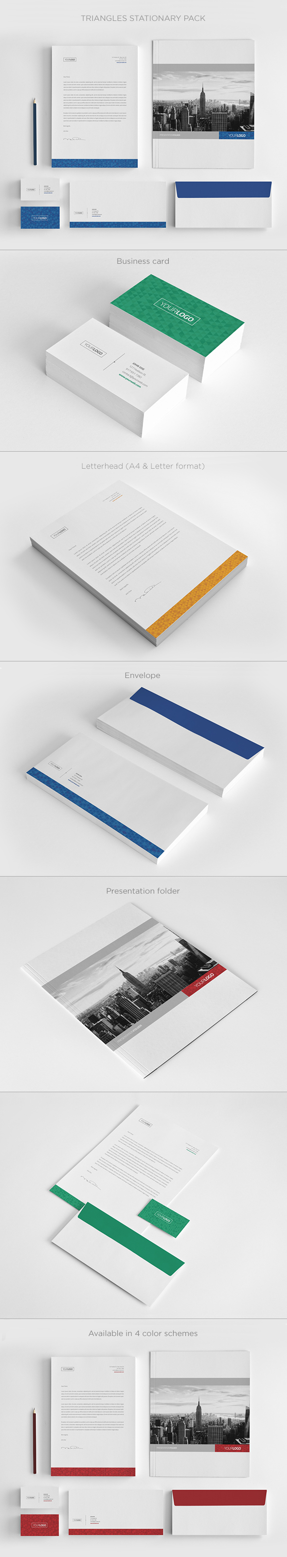 Real Estate Stationary Pack Download here httpgraphicrivernet