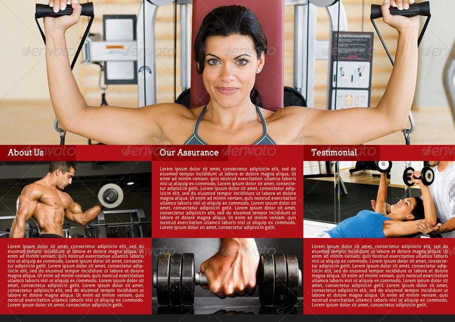 3 in 1 Fitness 3-Fold Brochure Bundle #Affiliate #Fold, #sponsored, #Fitness, #Bundle, #Brochure