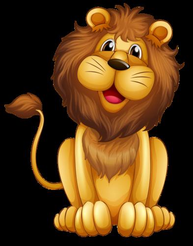 Multyashnye Tigry Lvy Yandeks Disk Cartoon Lion Lion Clipart Cartoon Illustration