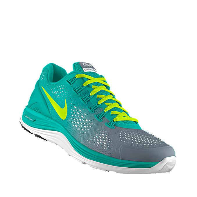 NIKEiD. Custom Nike LunarGlide+ 4 iD Women's Running Shoe