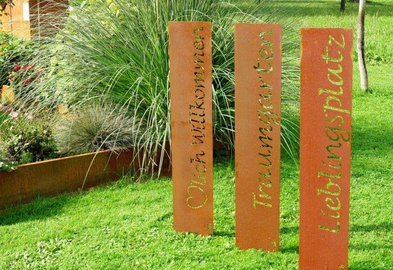 gartendekoration edelrost, gartendekoration edelrost | 1 | pinterest, Design ideen