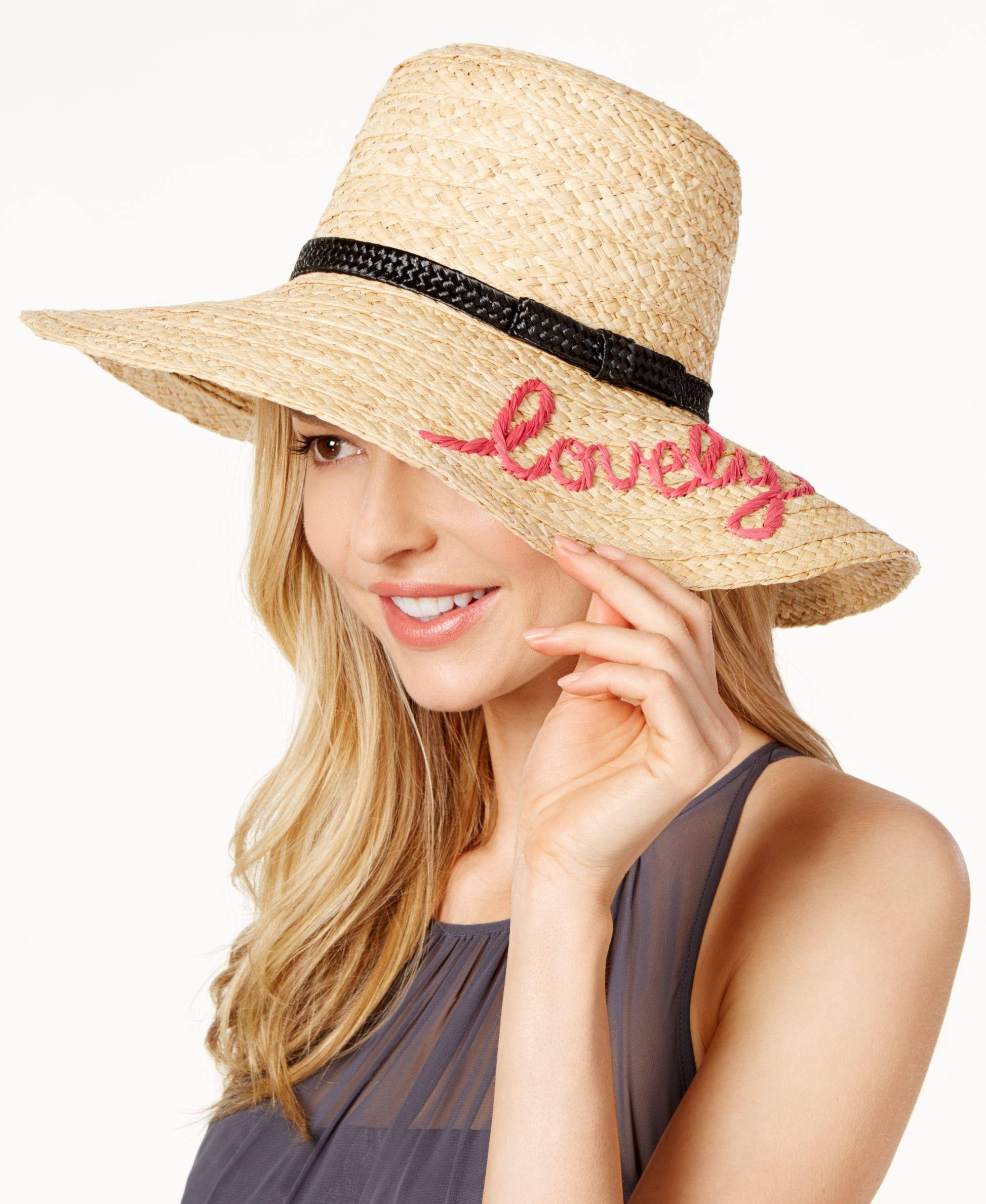 b081b1446cbf7 kate spade new york Lovely Sun Hat