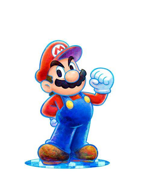 Mario Luigi Dream Team Bros Mario And Luigi Mario Art Mario