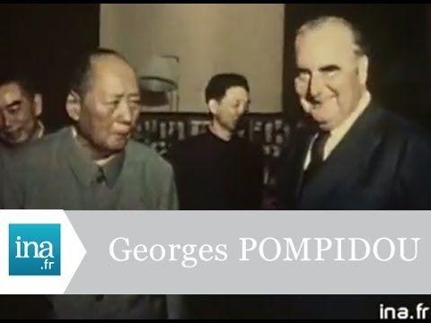 Georges Pompidou et Mao Tsé-toung en Chine en 1973 - Archive vidéo INA