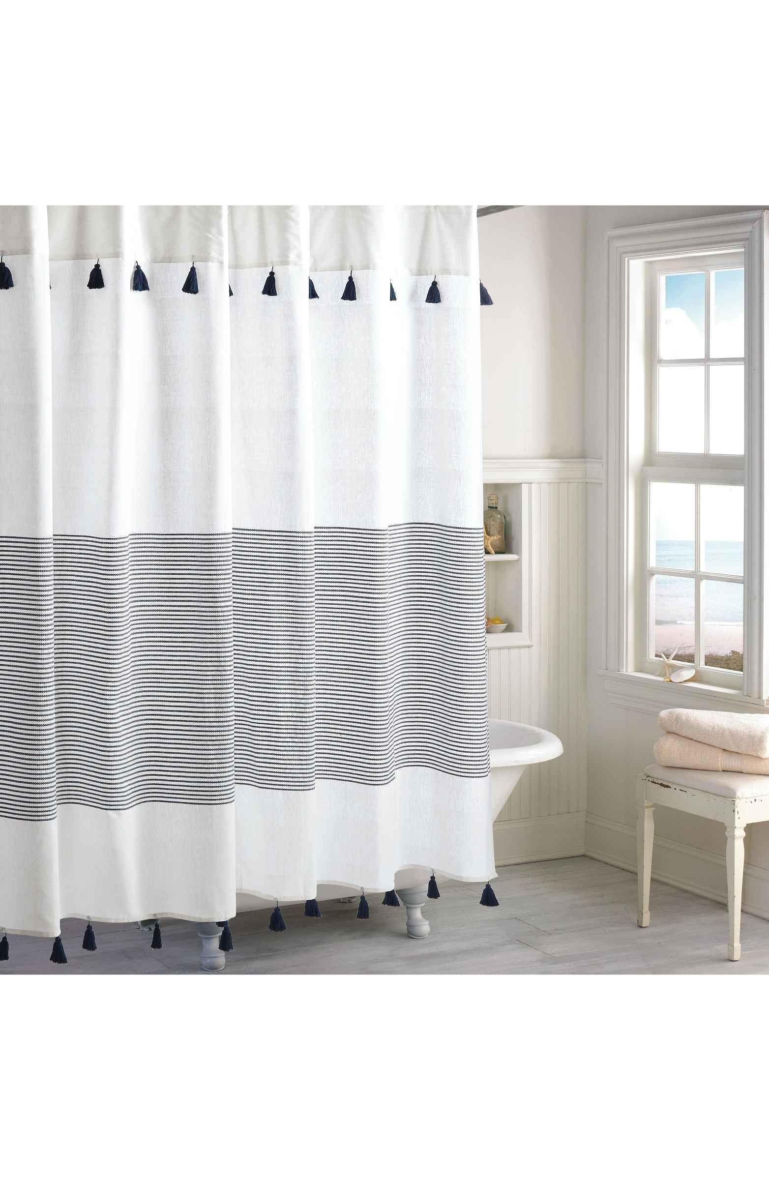 Main Image - Peri Home Panama Stripe Shower Curtain | Home & Decor ...