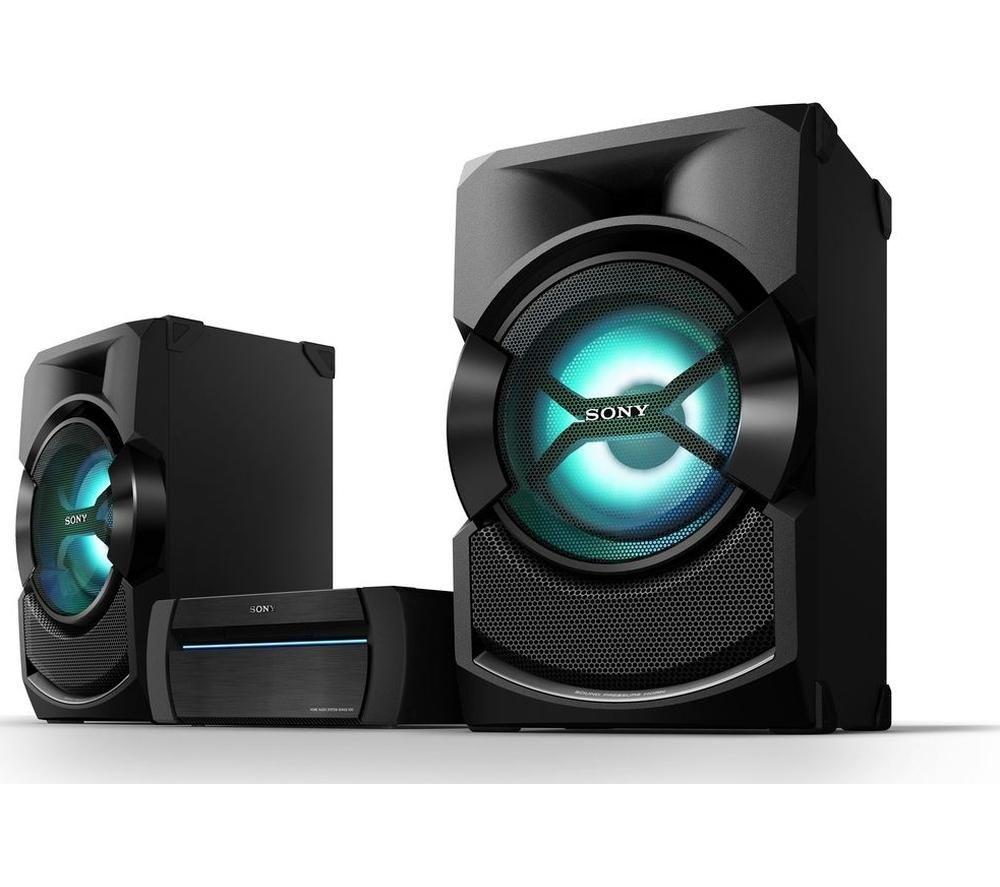 Sony shakex3d wireless megasound hifi system usb