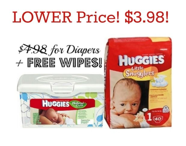 Printable Huggies Coupons Pay 3 98 For Diapers Get Free Wipes