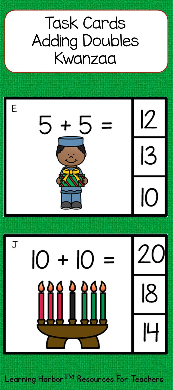 Students will love using these math addition doubles with these clip ...