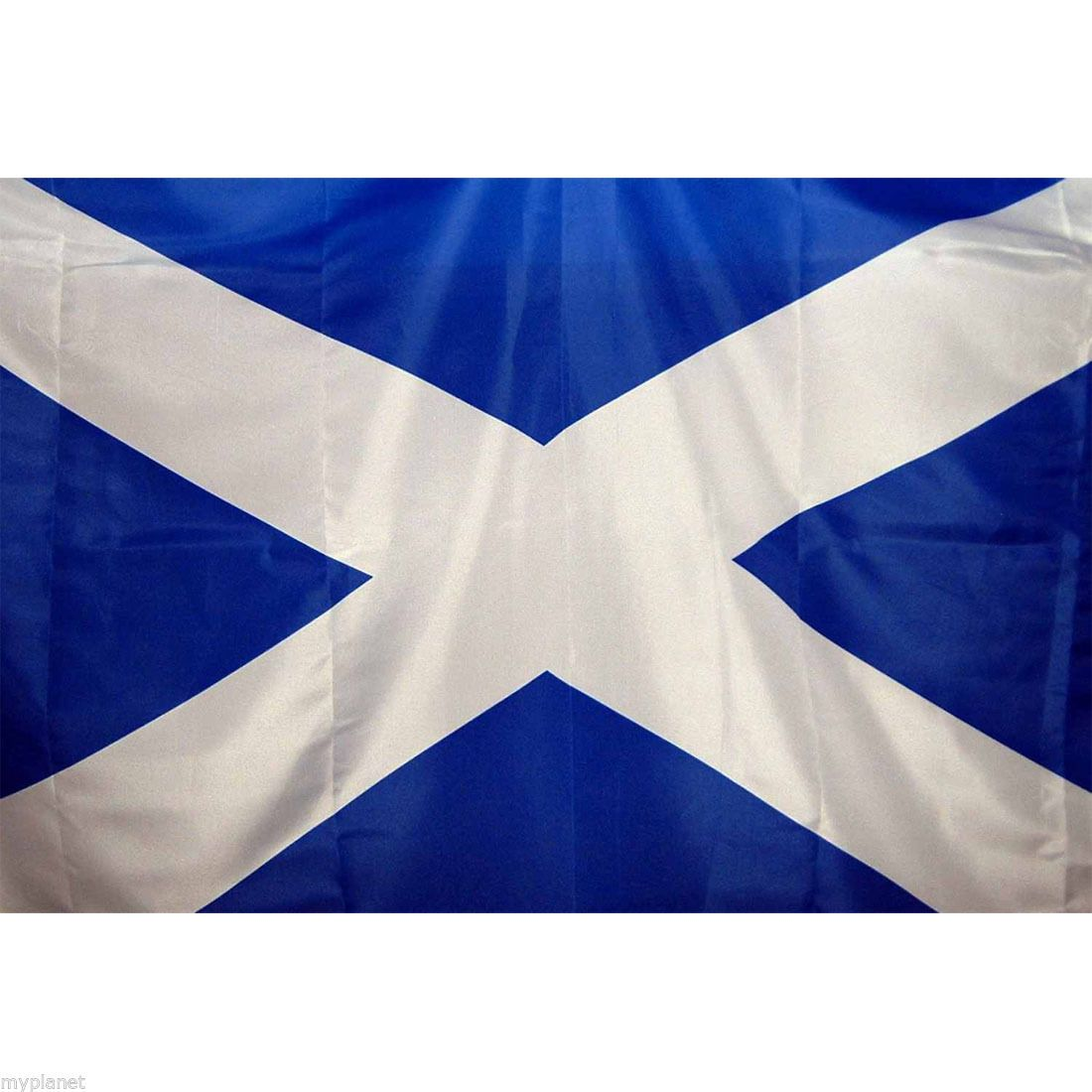 Scotland St Andrew S Saltire Scottish Blue White National Large 5 X 3ft Flag Ebay Flag Scotland Blue And White