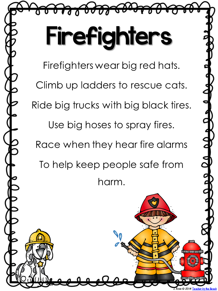 Math at Work Monday: Leah the firefighter