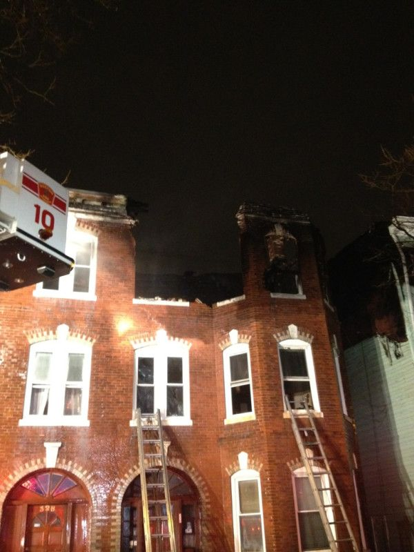 7 Alarm Fire On Chelsea Street In East Boston Causes The Building To Collapse While Firefighters Battle The Flames