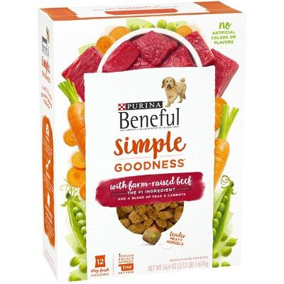 Purina Beneful Dry Dog Food Simple Goodness With Farm Raised Beef