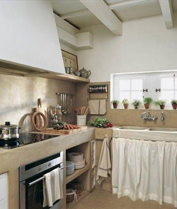 Cozinhas Em Alvenaria E Cimento Queimado Com Imagens Cozinhas