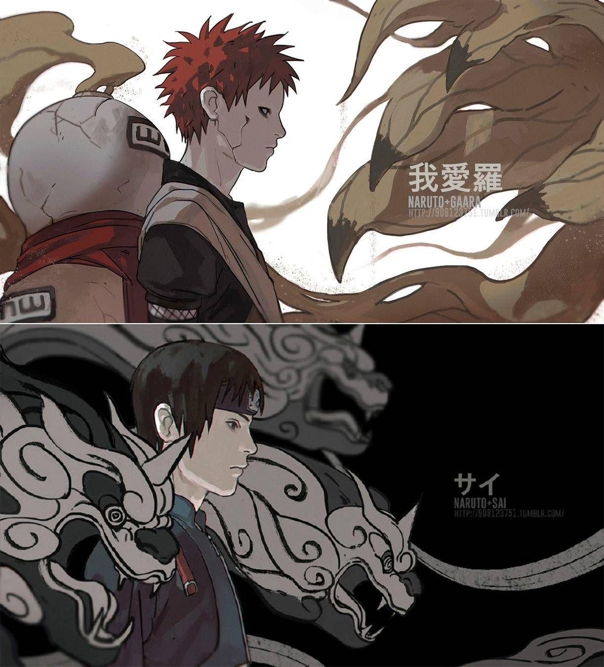 Pin by 韩冬阳 Dongyan on Illustration Anime naruto, Anime