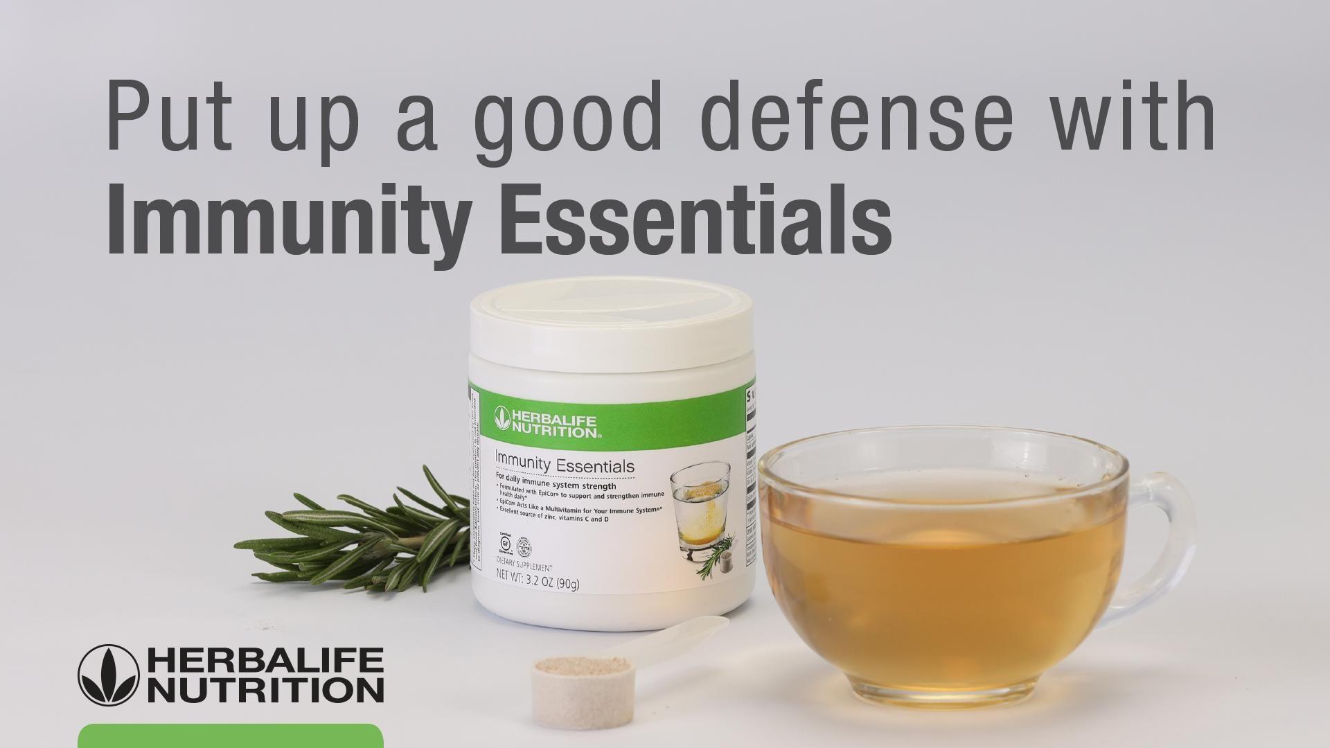 Introducing Immunity Essentials Herbalife Herbalife Nutrition Herbalife Business