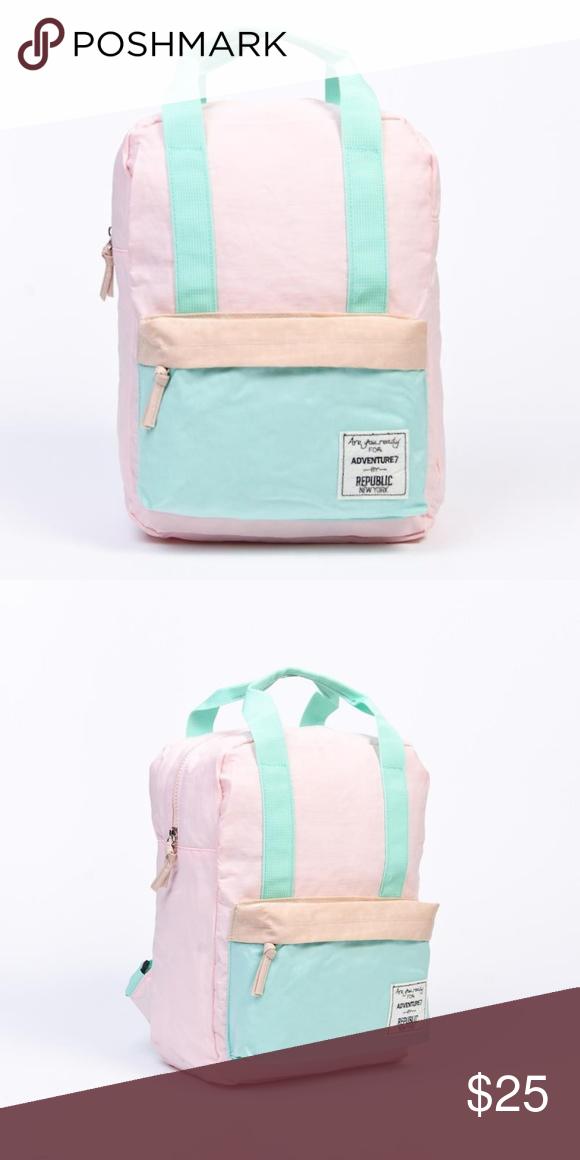 Cute colorful backpack