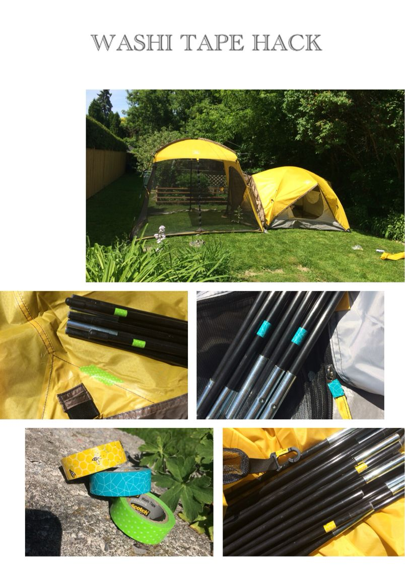 My tent comes in several pieces and always get the poles mixed up. So  sc 1 st  Pinterest & My tent comes in several pieces and always get the poles mixed up ...