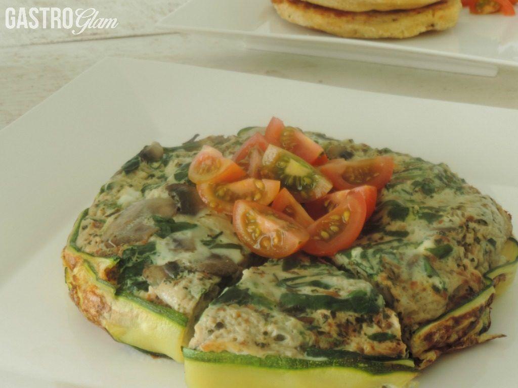 Tortilla de zucchini, para desayunos más saludables | Gastroglam