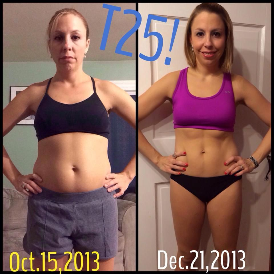 Christine J's T25 results! | Transformations | Weight loss